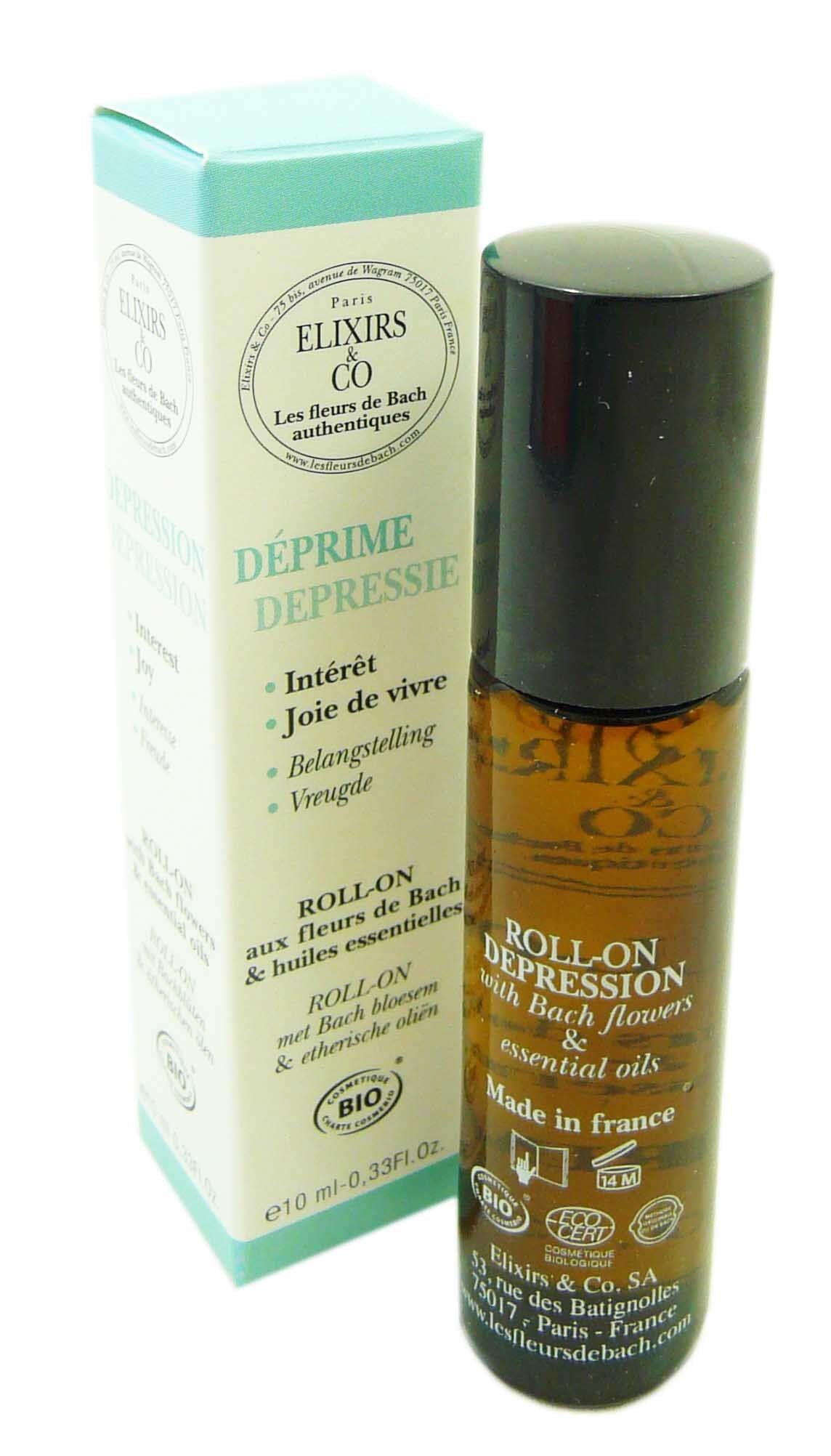ELIXIRS & CO Elixir & co deprime fleurs de bach roll-on 10ml