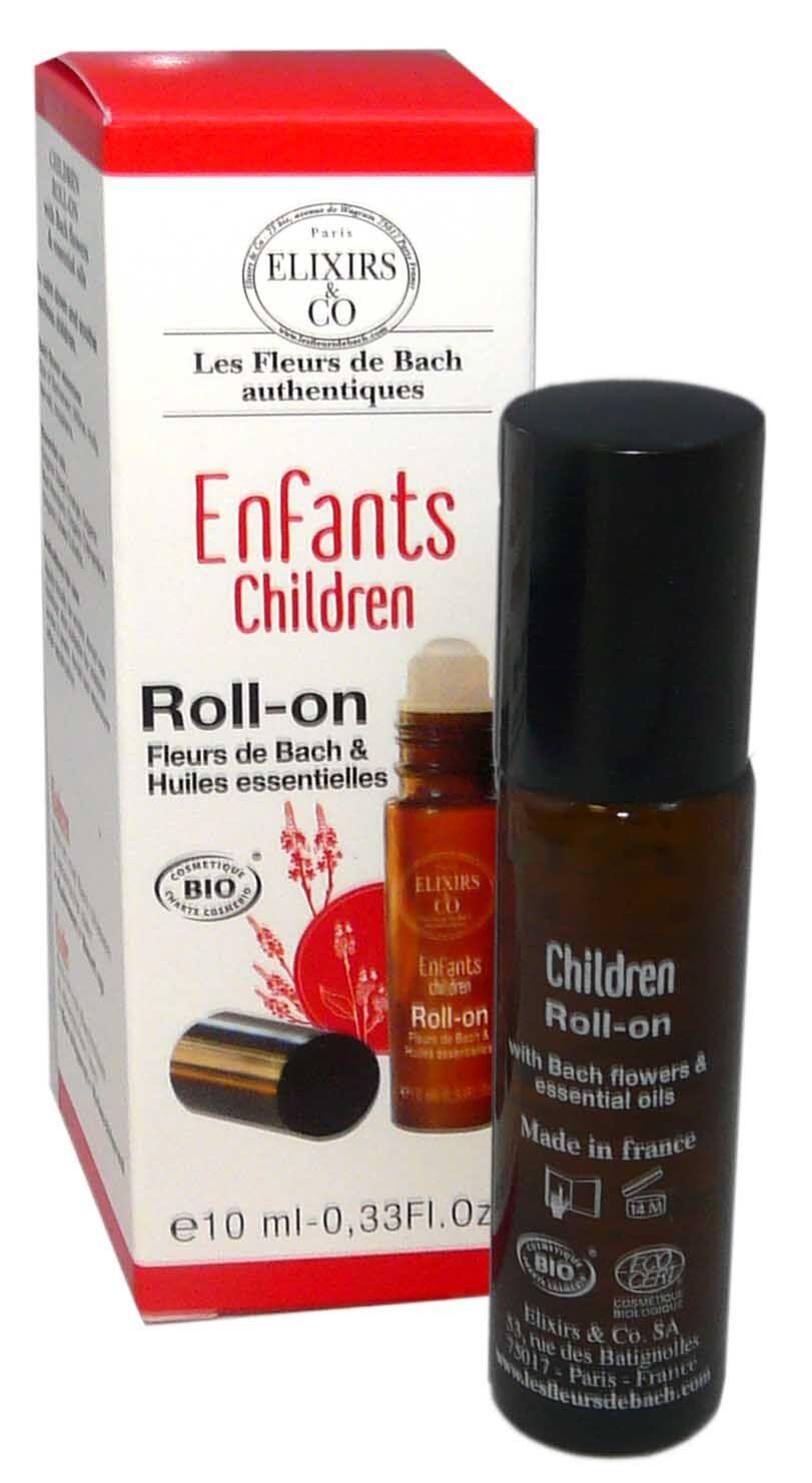 Elixirs & co fleurs de bach children roll on 10ml