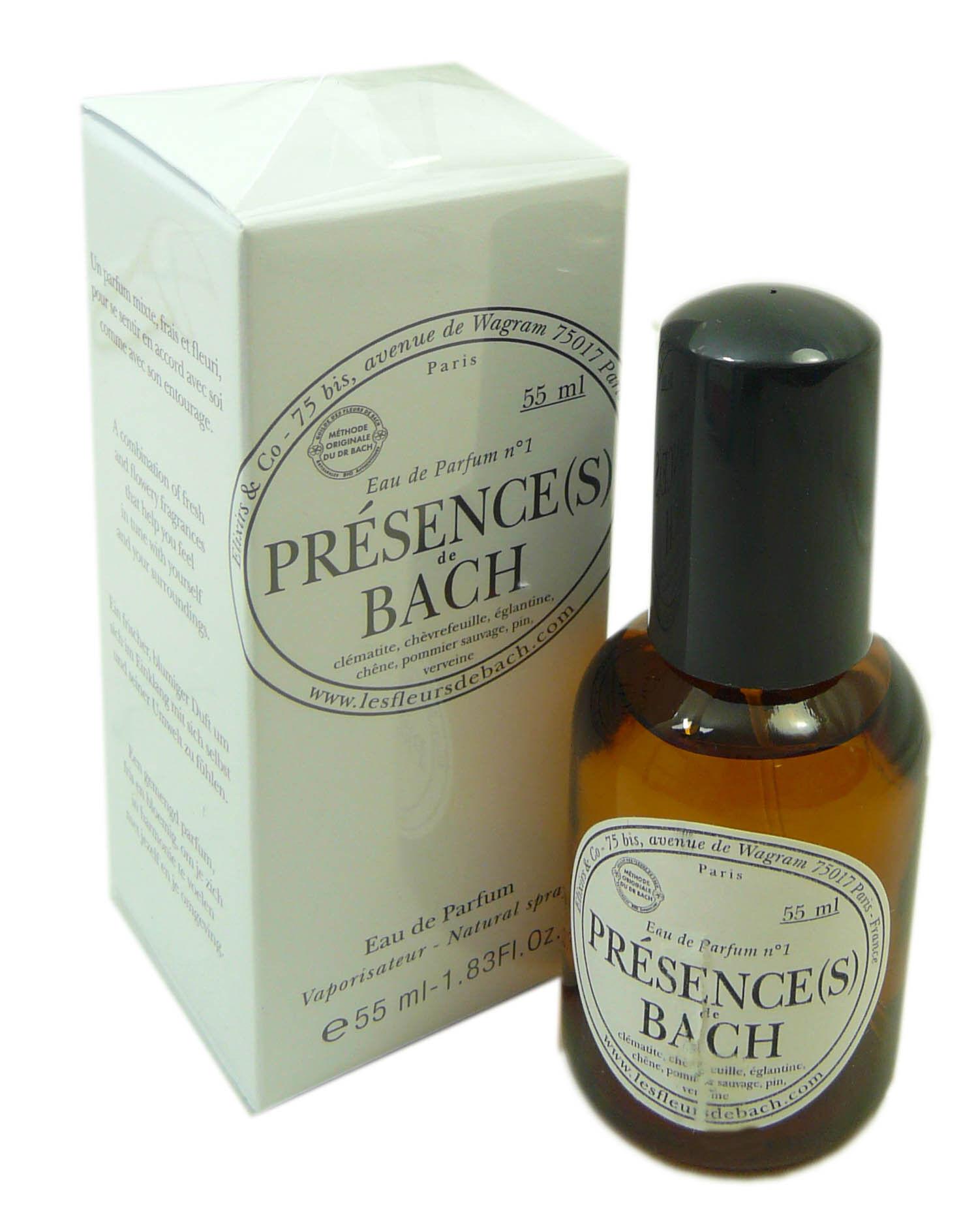 Elixirs & co fleurs de bach eau de parfum presence  55ml