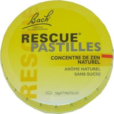 FLEUR BACH FAMADEM Elixirs & co rescue pastilles naturel 50g