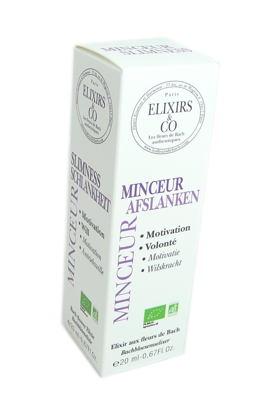 Elixirs & co fleurs de bach minceur 20ml