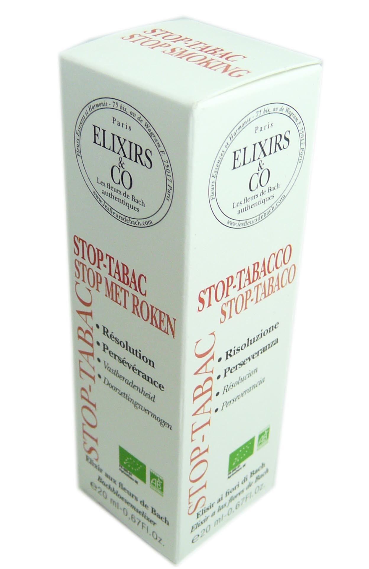 ELIXIRS & CO Elixir & co fleurs de bach stop-tabac 20ml