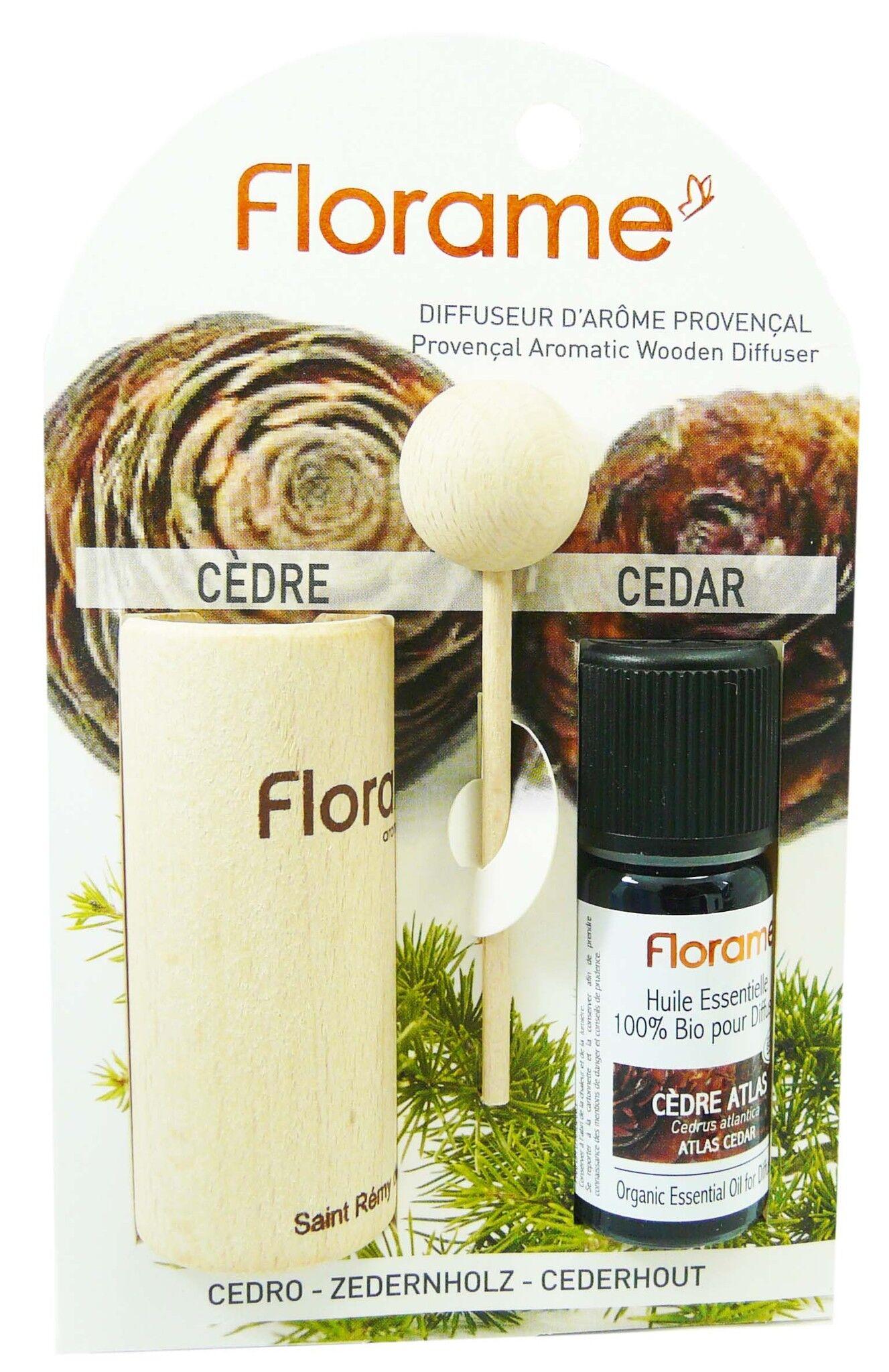 Florame diffuseur d'arome provencal cedre