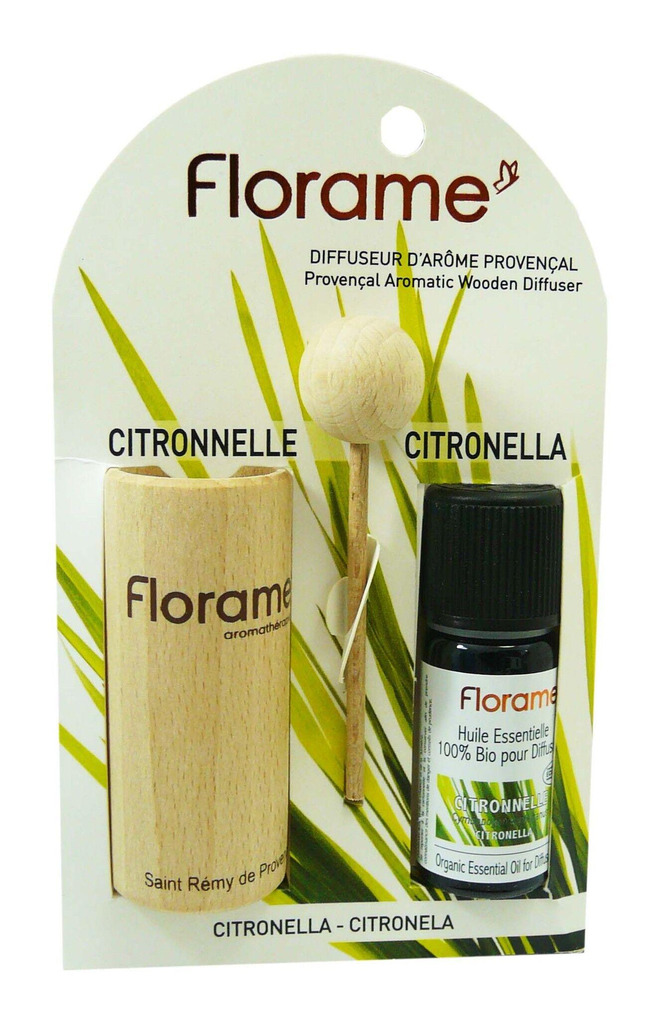 Florame diffuseur d'arome provencal citronnelle