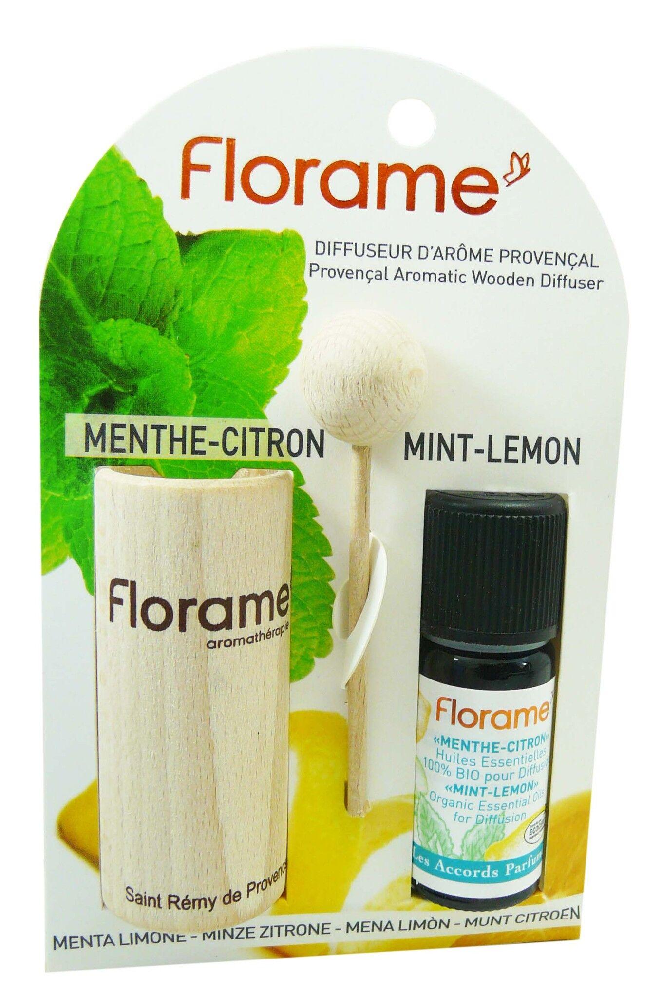 Florame diffuseur d'arome provencal menthe citron