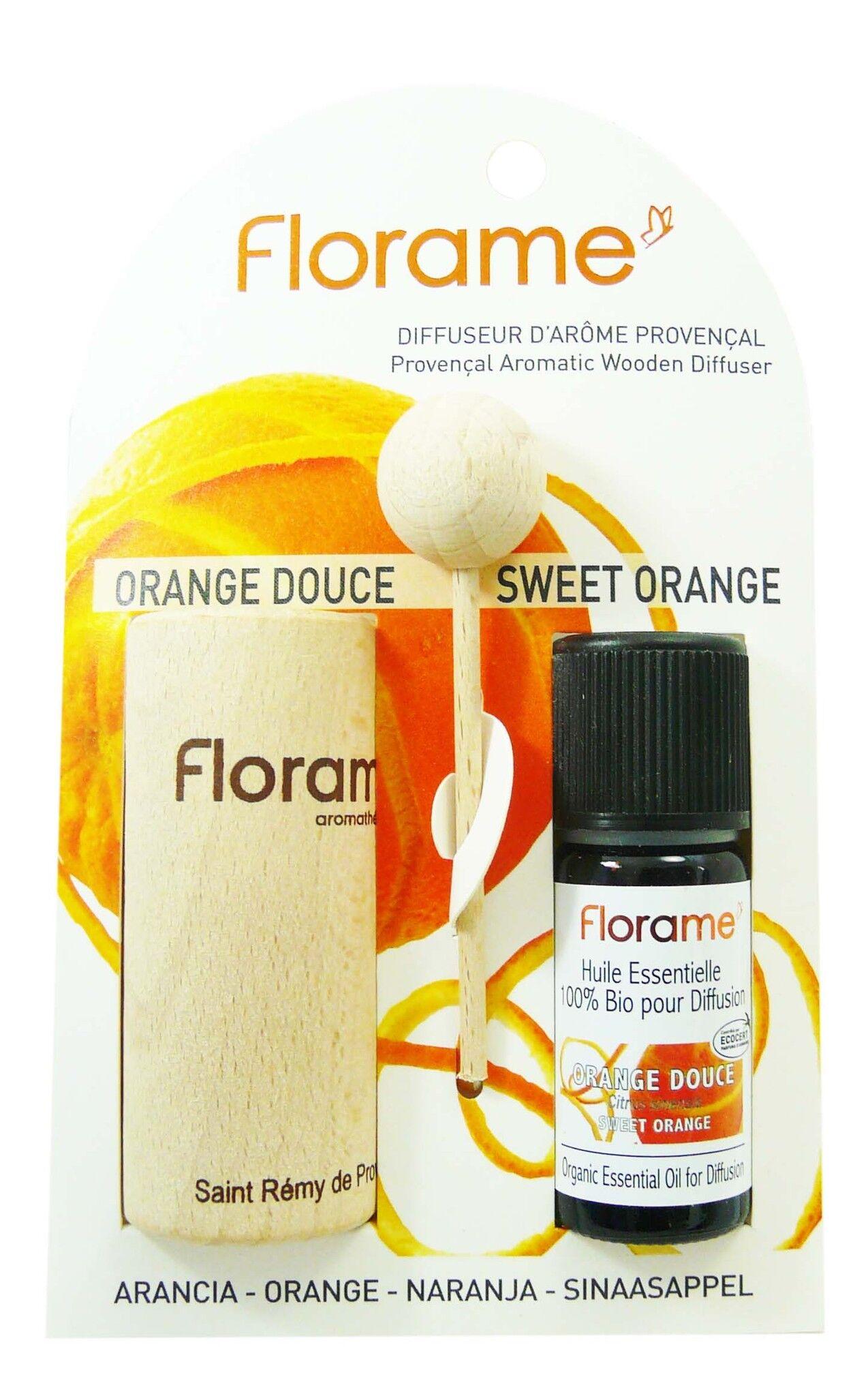 Florame diffuseur d'arome provencal orange douce