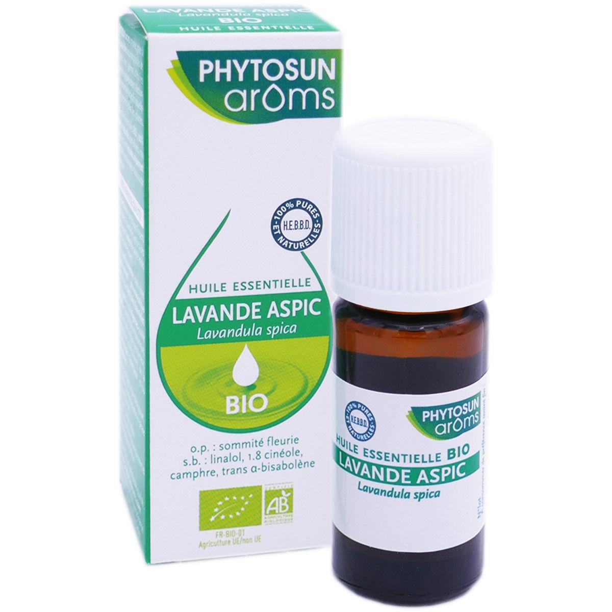 Phytosun aroms huile essentielle lavande aspic bio 10 ml