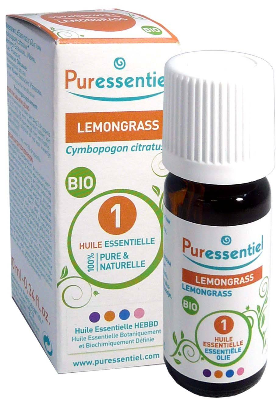 Puressentiel huile essentielle lemongrass bio 5ml