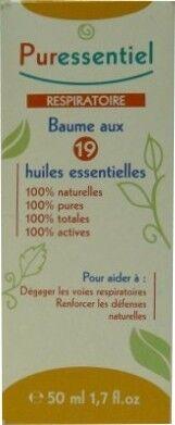 Puressentiel respiratoire baume aux 19 huiles essentielles