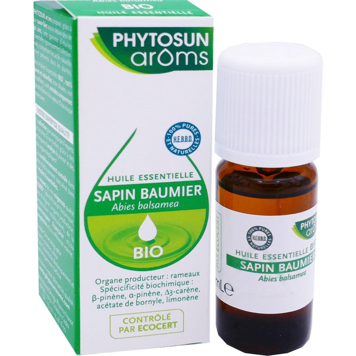 Phytosun aroms huile essentielle bio sapin baumier 10ml
