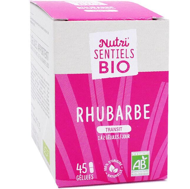 NUTRISANTE Nutri sentiels bio rhubarbe transit 45 gÉlules