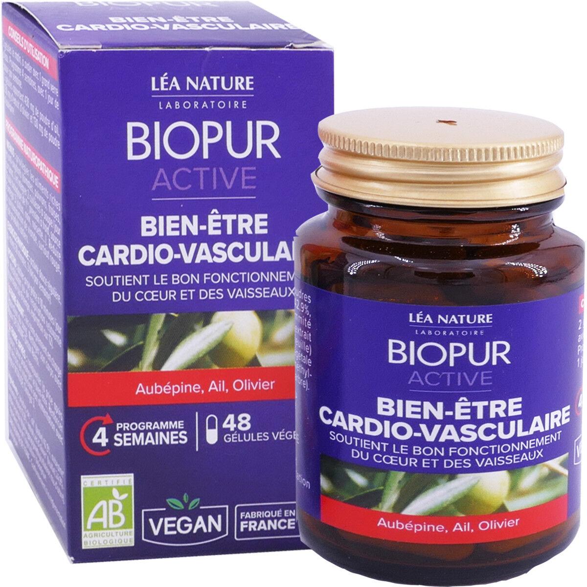 LEA NATURE Biopur cardio-vasculaire 48 gelules bio vegan