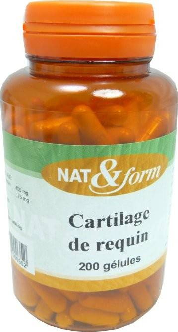 Nat & form cartilage de requin 200 gelules
