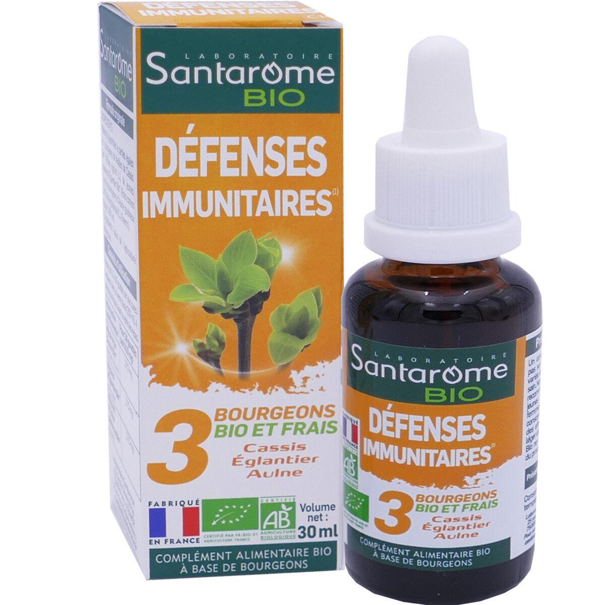 SANTAROME BIO Santarome defenses immunitaires 30 ml