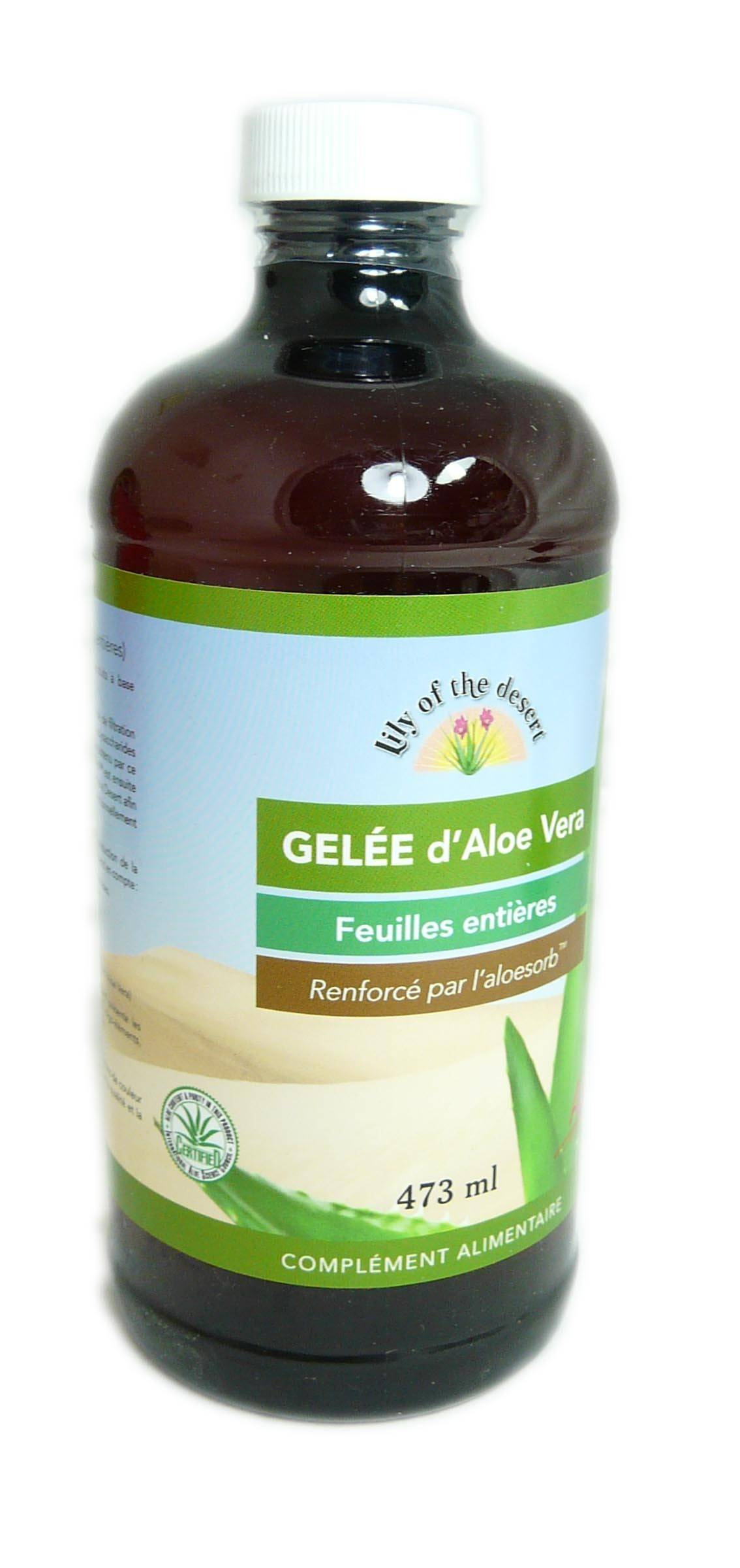 LILY OF THE DESERT Gelee d'aloe lily of the desert 473ml