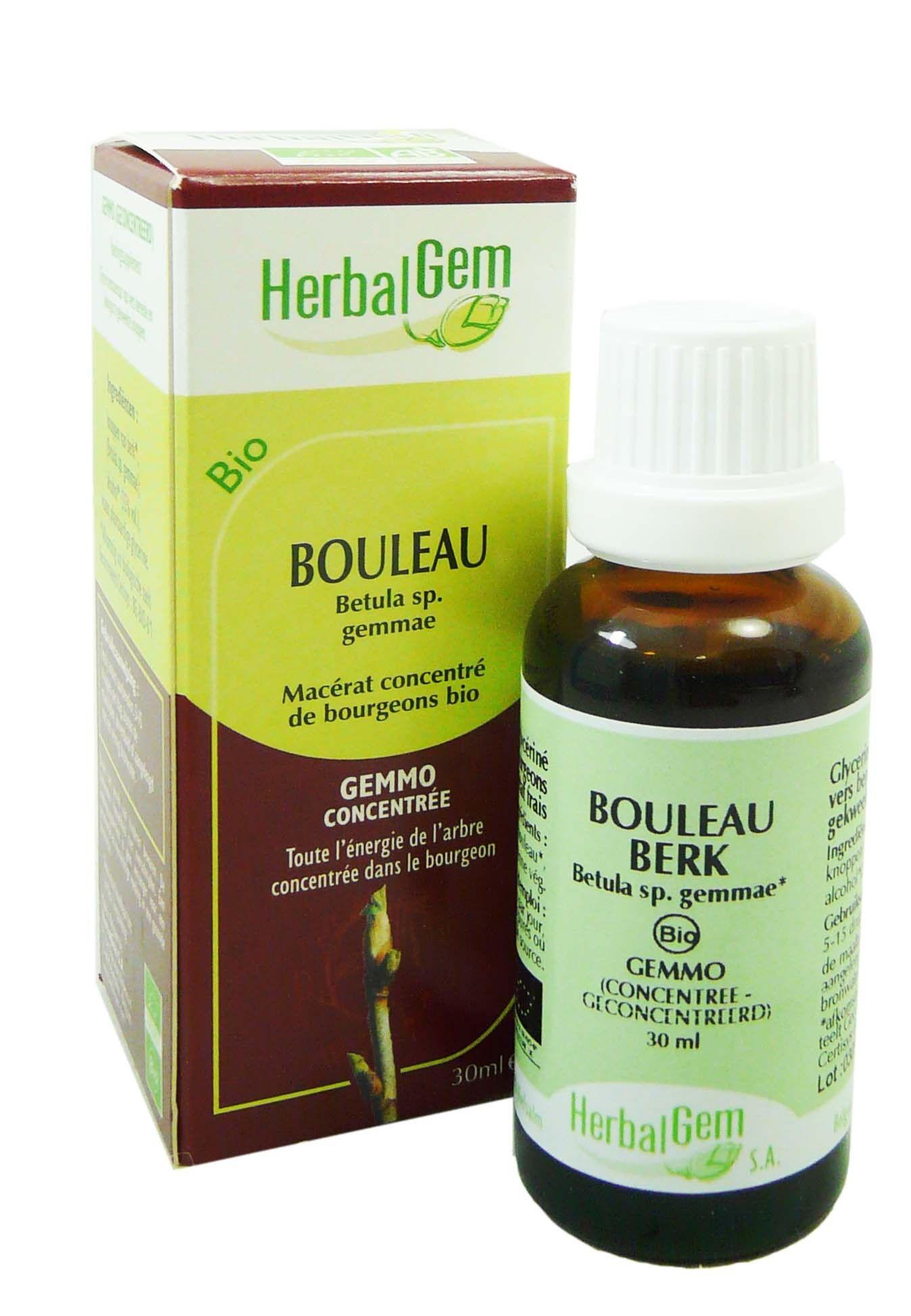 Herbalgem bio bouleau gemmo concentre 30ml
