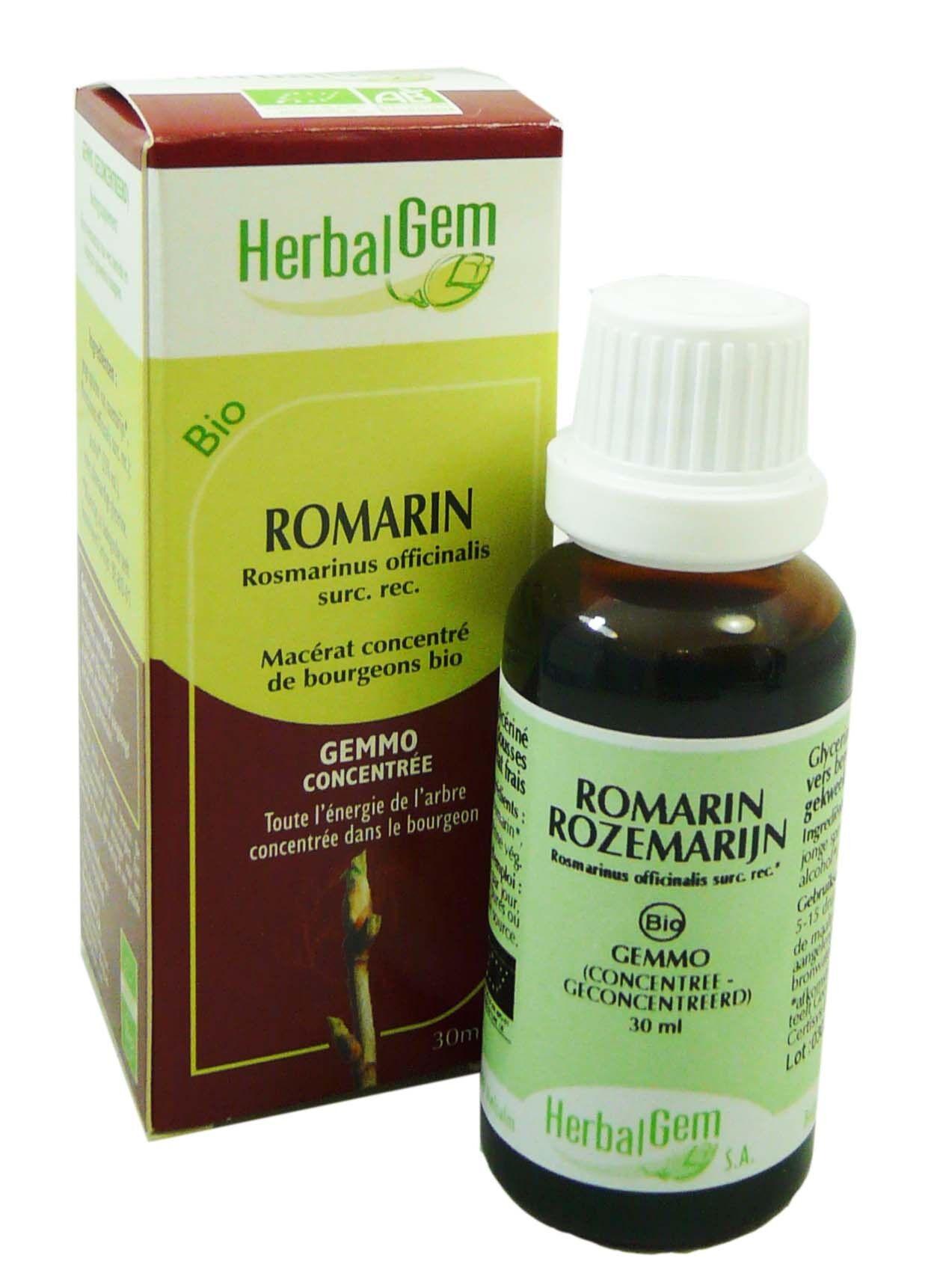 Herbalgem bio romarin gemmo concentre 30ml