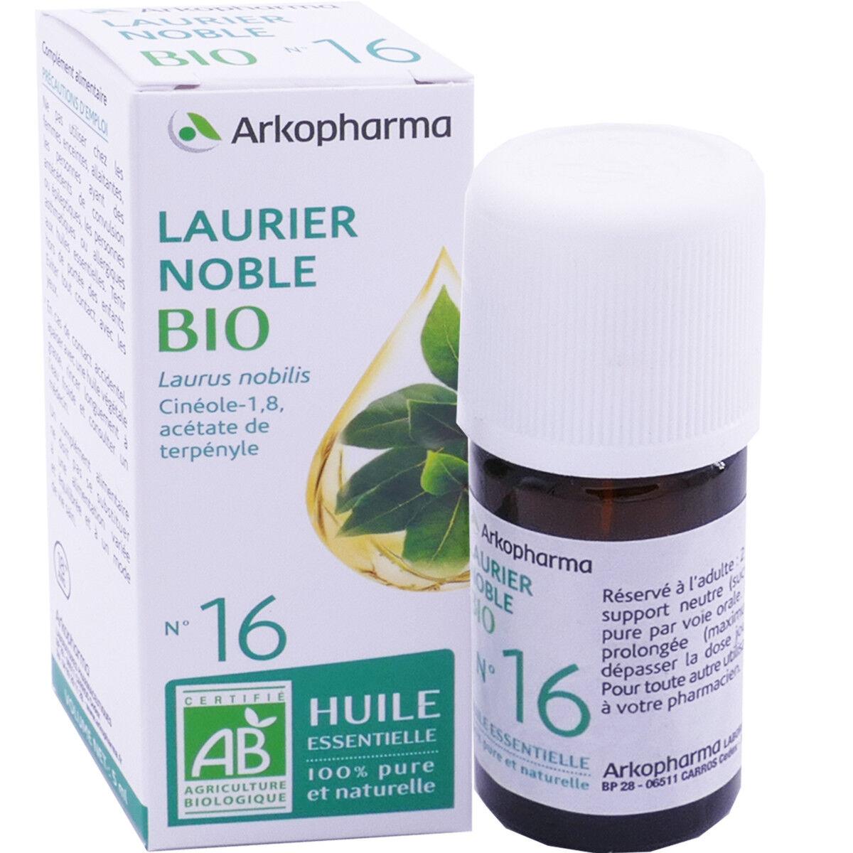 Arkopharma huile essentielle laurier noble bio n°16 5 ml