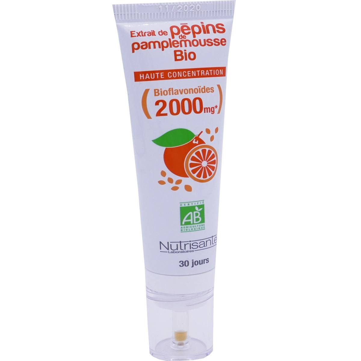 Nutrisante extrait de pepins de pamplemousse bio 30 ml