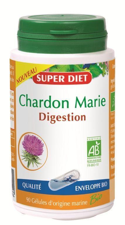 Super diet chardon marie 90gel bio