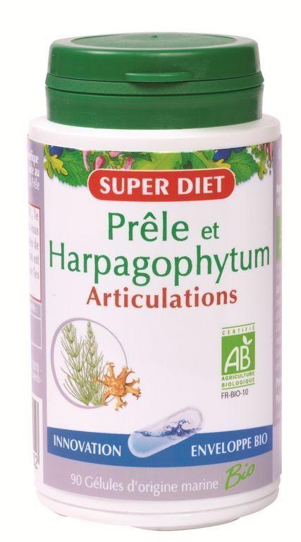Super diet prele harpagophytum 90gelules bio