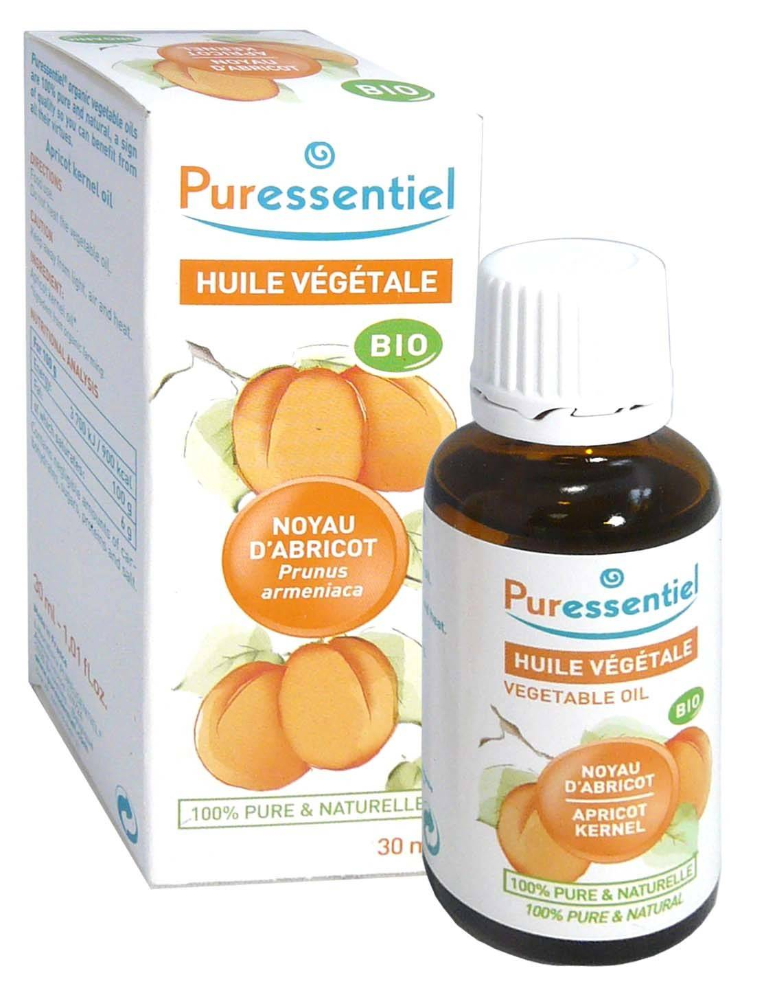 Puressentiel huile vegetale bio noyau d'abricot 30ml