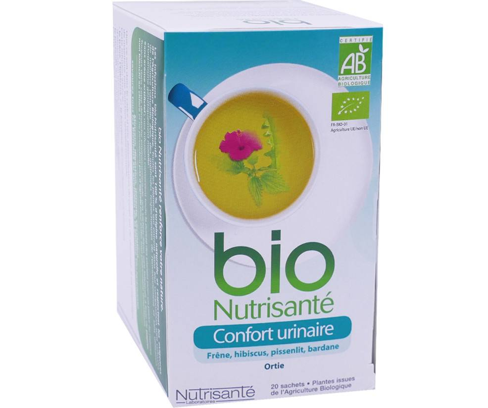 NUTRISANTE Bio nutrisante infusion confort urinaire 20 sachets