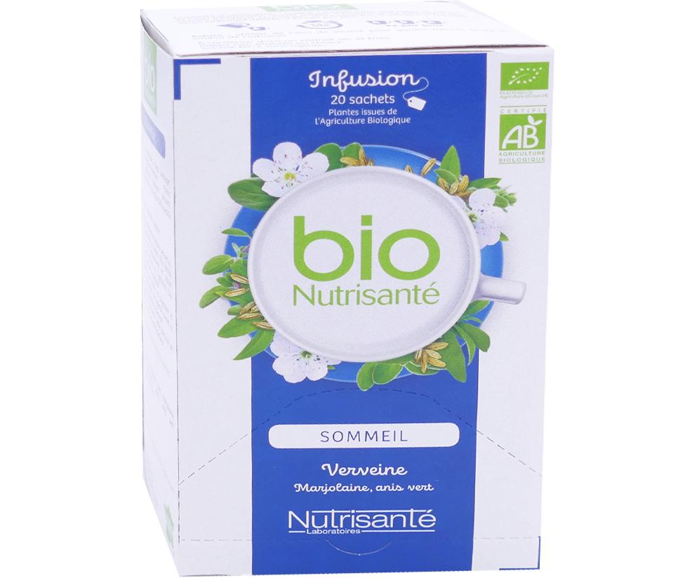 NUTRISANTE Bio nutrisante infusion sommeil 20 sachets