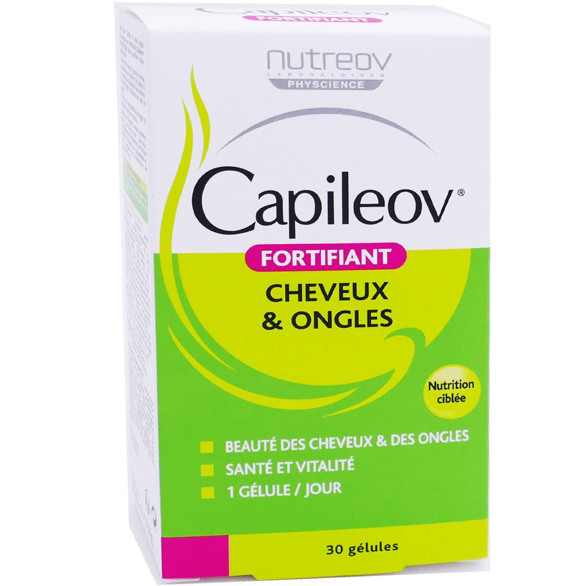 PHYSCIENCE Nutreov capileov fortifiant cheveux ongles 30gelules