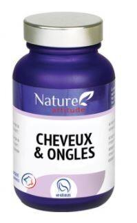 Nature attitude cheveux & ongles 60 gÉlules