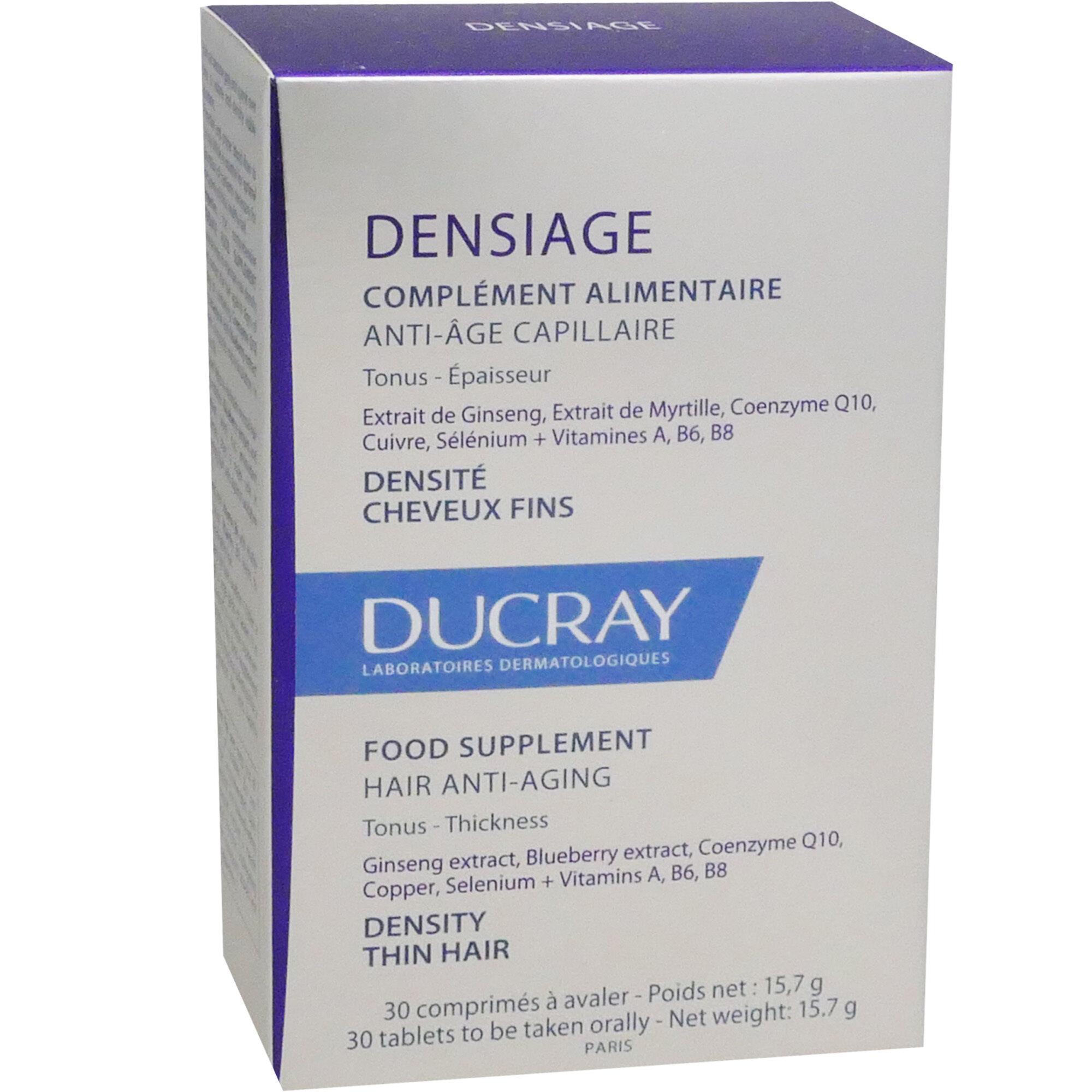 Ducray denisage anti-age  capillaire 30 comprimes