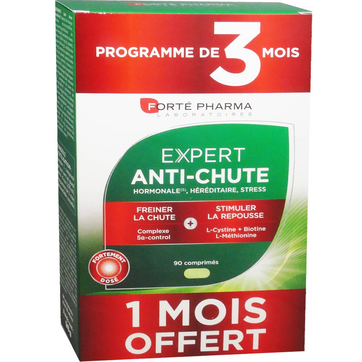 Forte pharma expert anti-chute 3 mois 90 comprimes