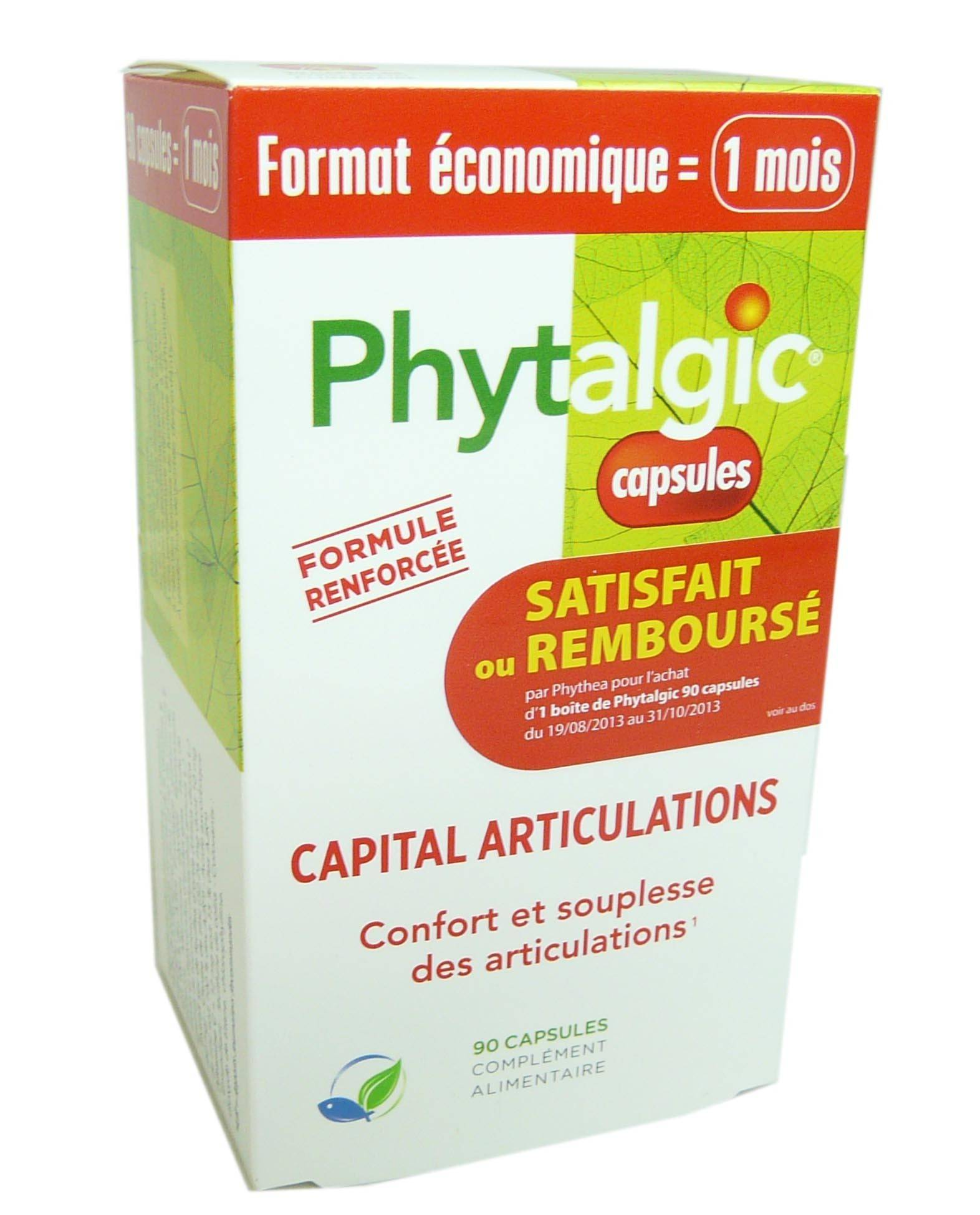 PHYTEA Phytalgic format eco 1 mois 90 capsules