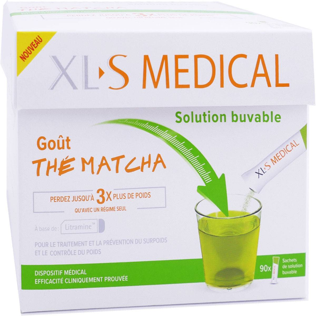 OMEGA PHARMA Xls medical gout matcha 90 sachets
