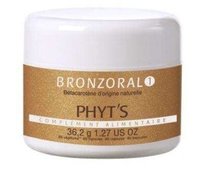 Phyt's bronzoral 1 80 capsules