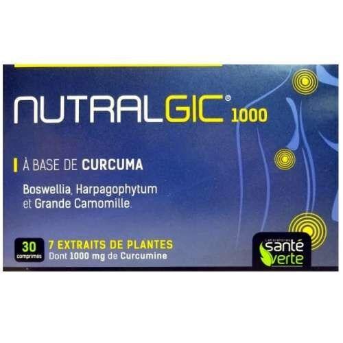 SANTE VERTE Nutralgic anti inflammatoire 30 comprimes