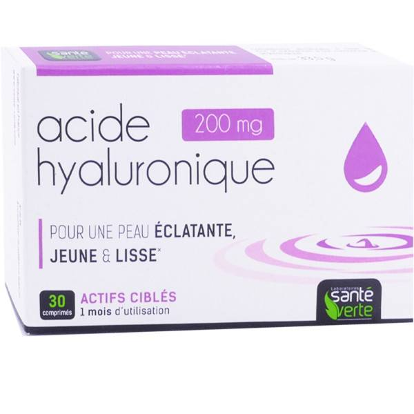 Sante verte acide hyaluronique 200mg 30 comprimes