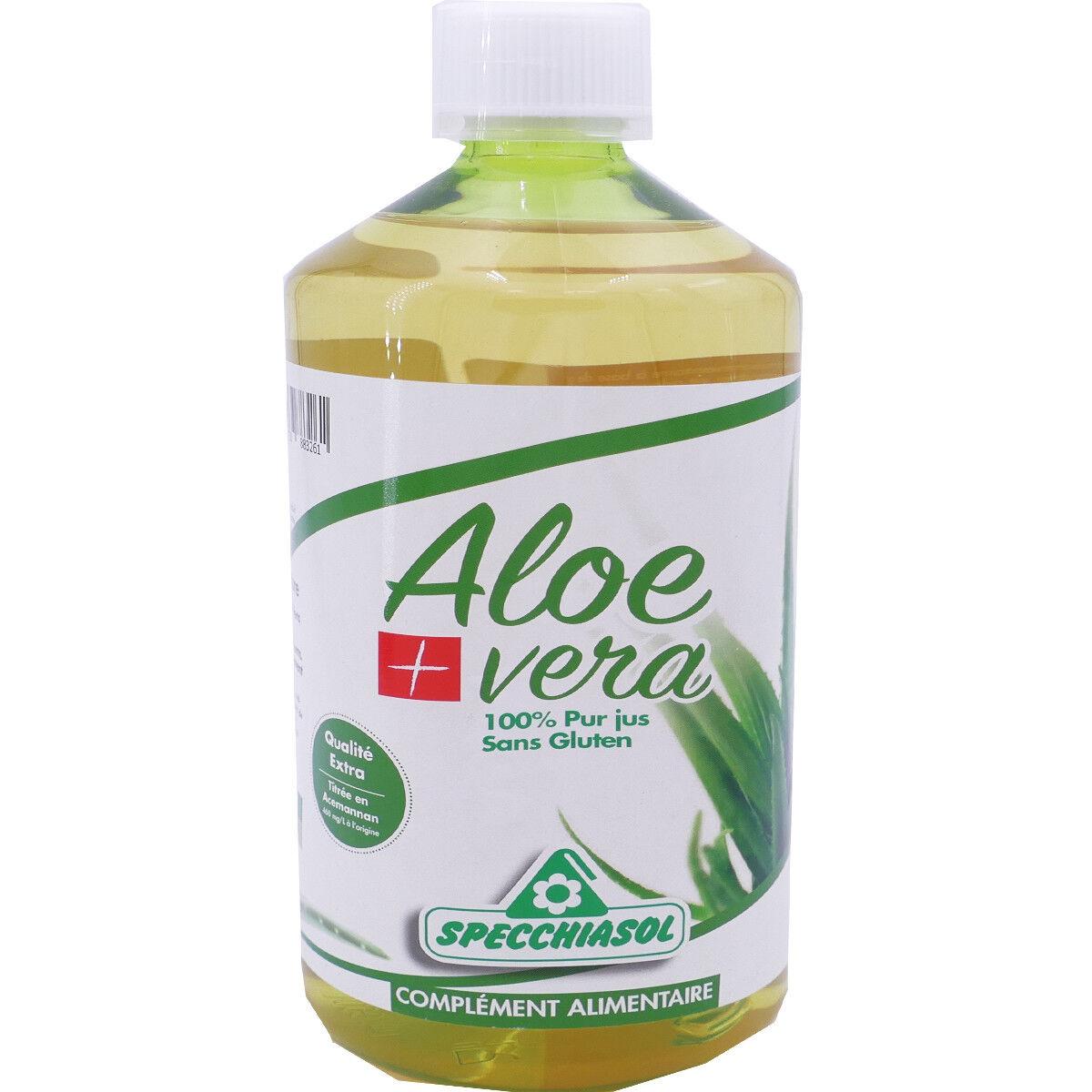 BARBEWIN Aloevera pur jus sans gluten 1 l