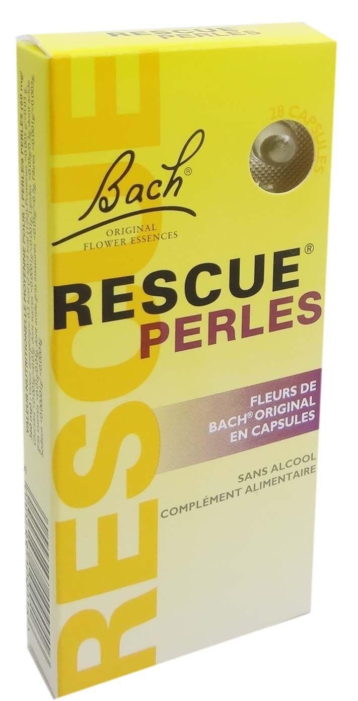 FLEUR BACH FAMADEM Elixirs & co rescue perles 28 capsules