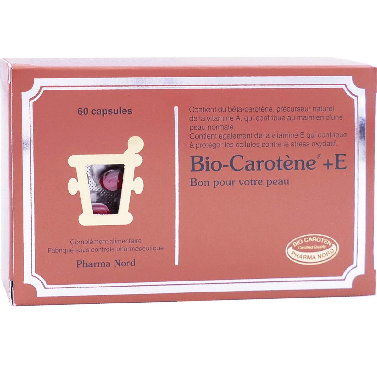 PHARMANORD Bio-carotÈne +e 60 capsules
