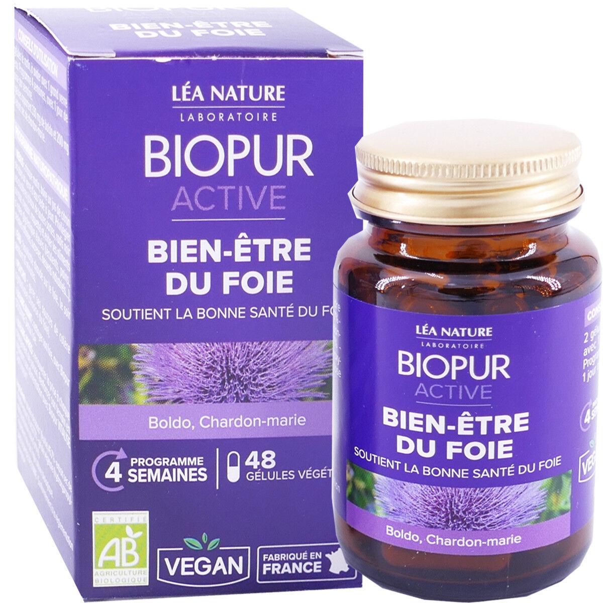 LEA NATURE Biopur bien etre du foie 48 gelules