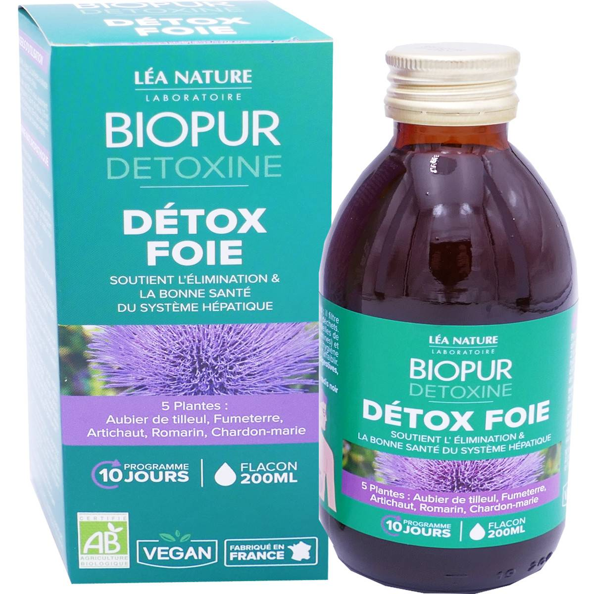 LEA NATURE Biopur detox foie 200 ml bio