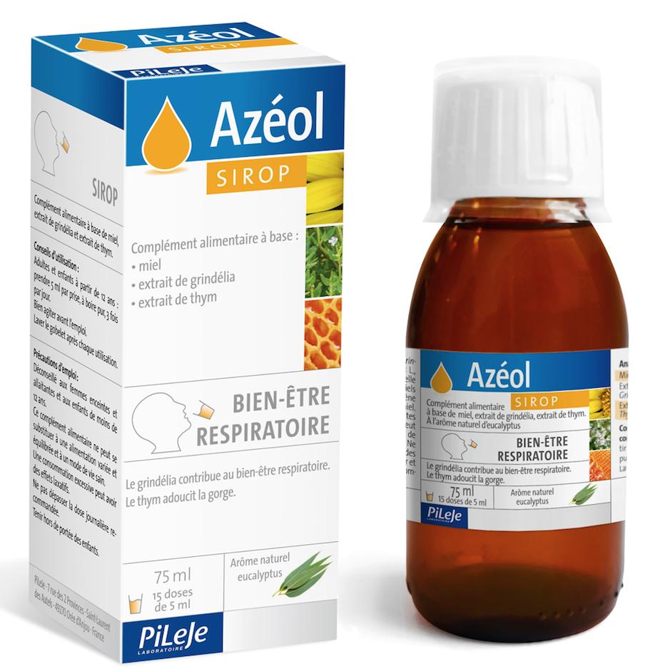 DIVERS Azeol sirop bien etre respiratoire 75ml