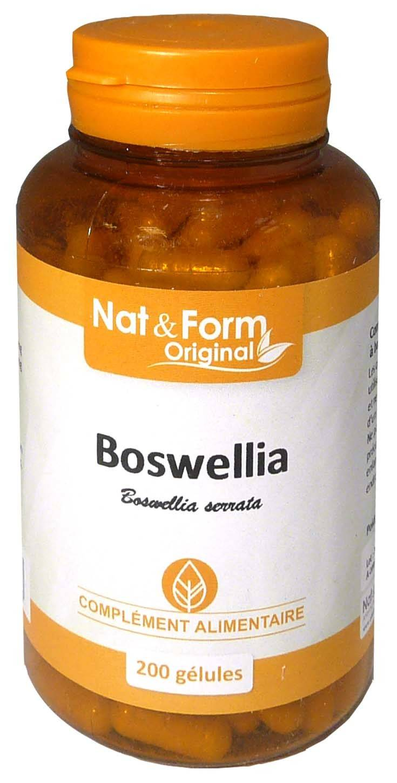 Nat & form boswellia 200 gelules