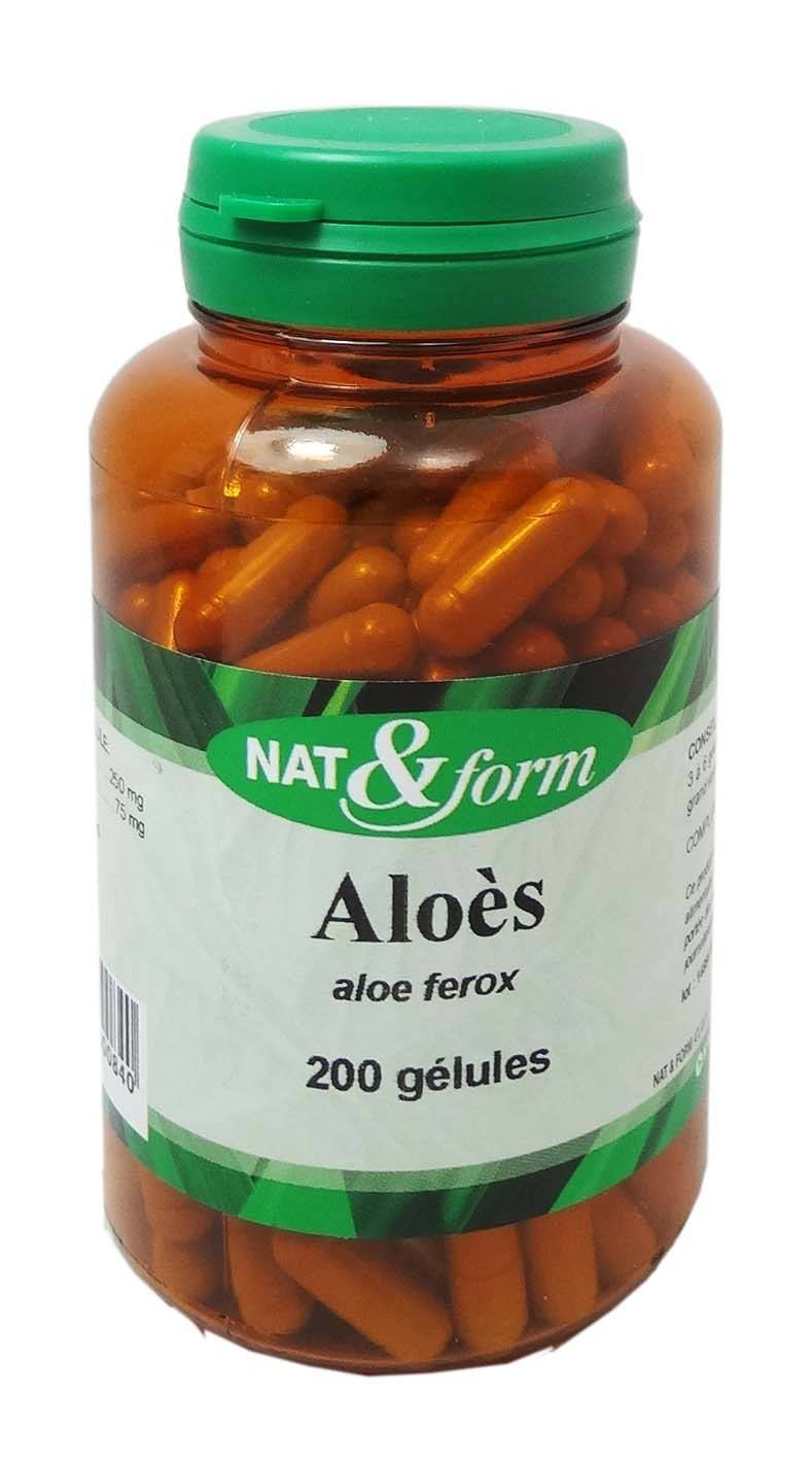 Nat & form aloes 200 gelules