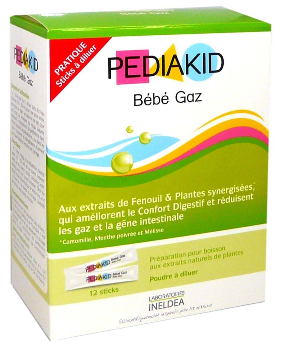 Pediakid bebe gaz 12 sticks