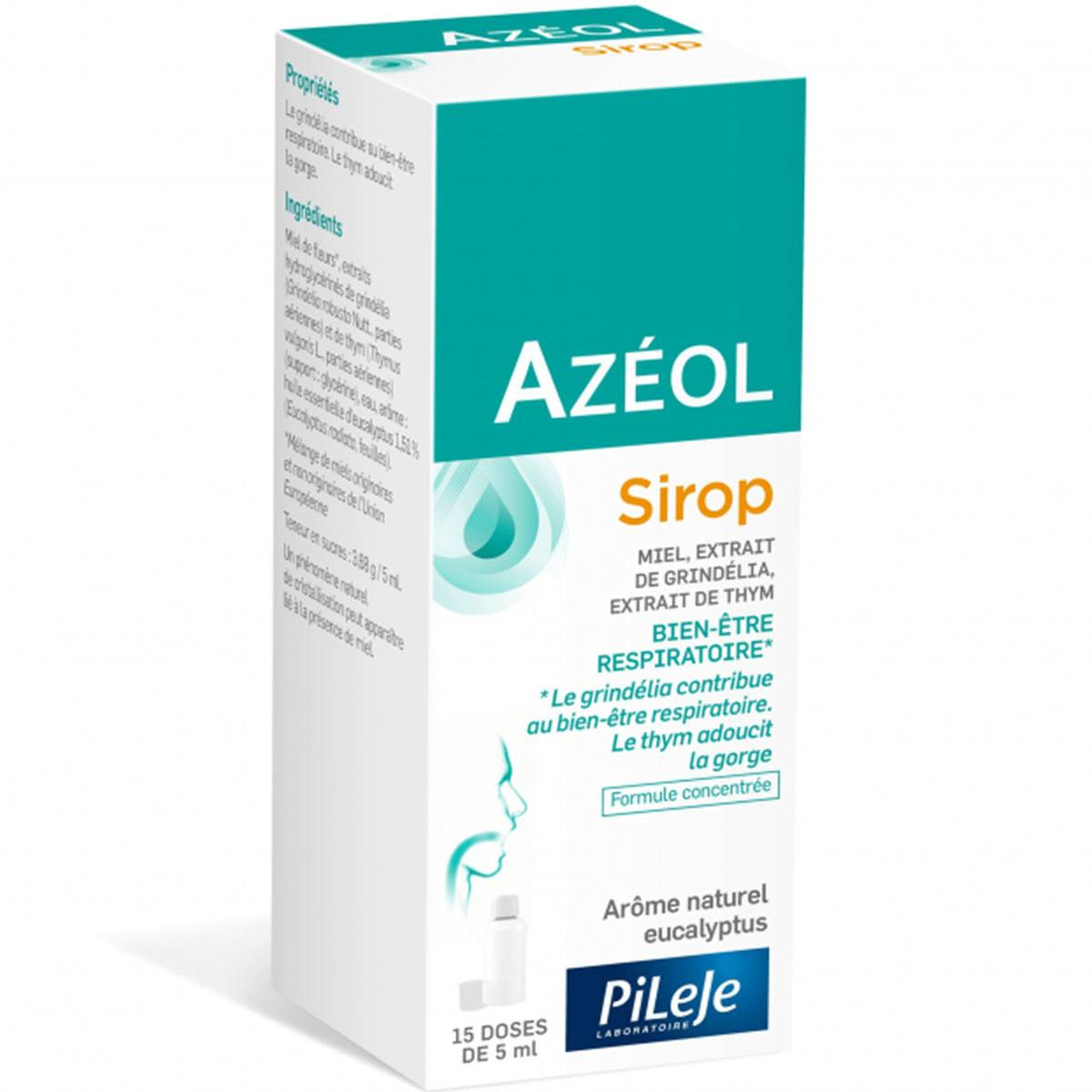 DIVERS Azeol sirop 75ml