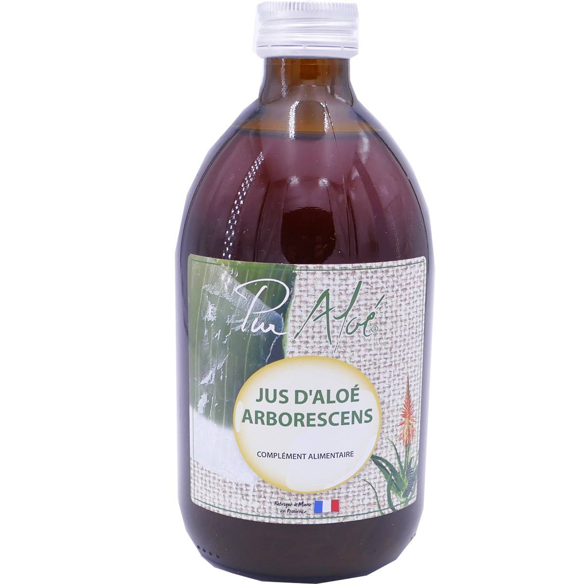 PHARM UP Pur aloe jus d'aloe arborescens 500 ml