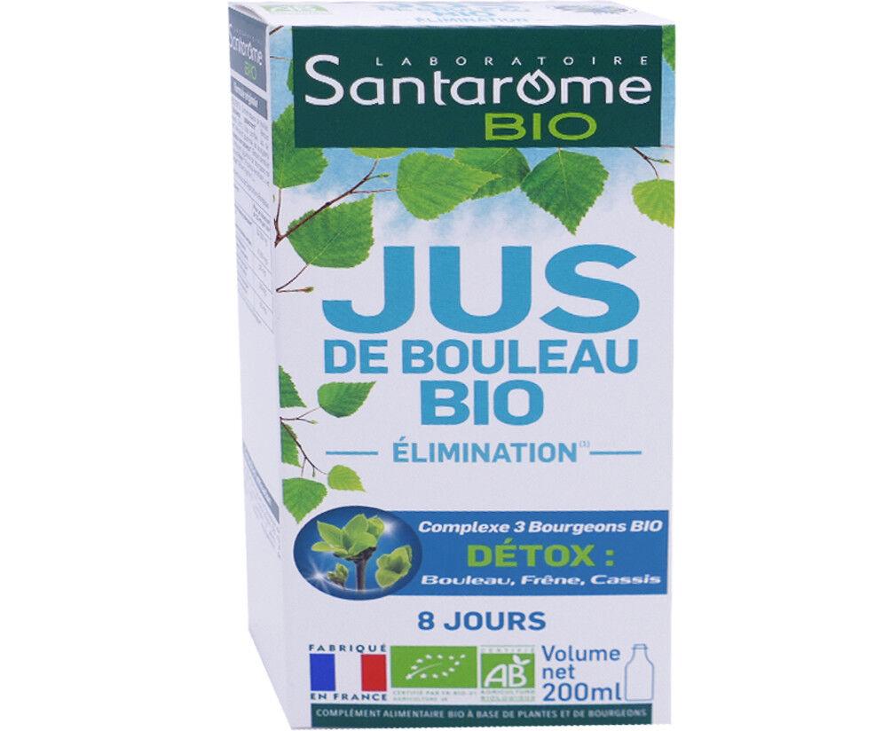 SANTAROME BIO Santarome jus de bouleau bio 200 ml