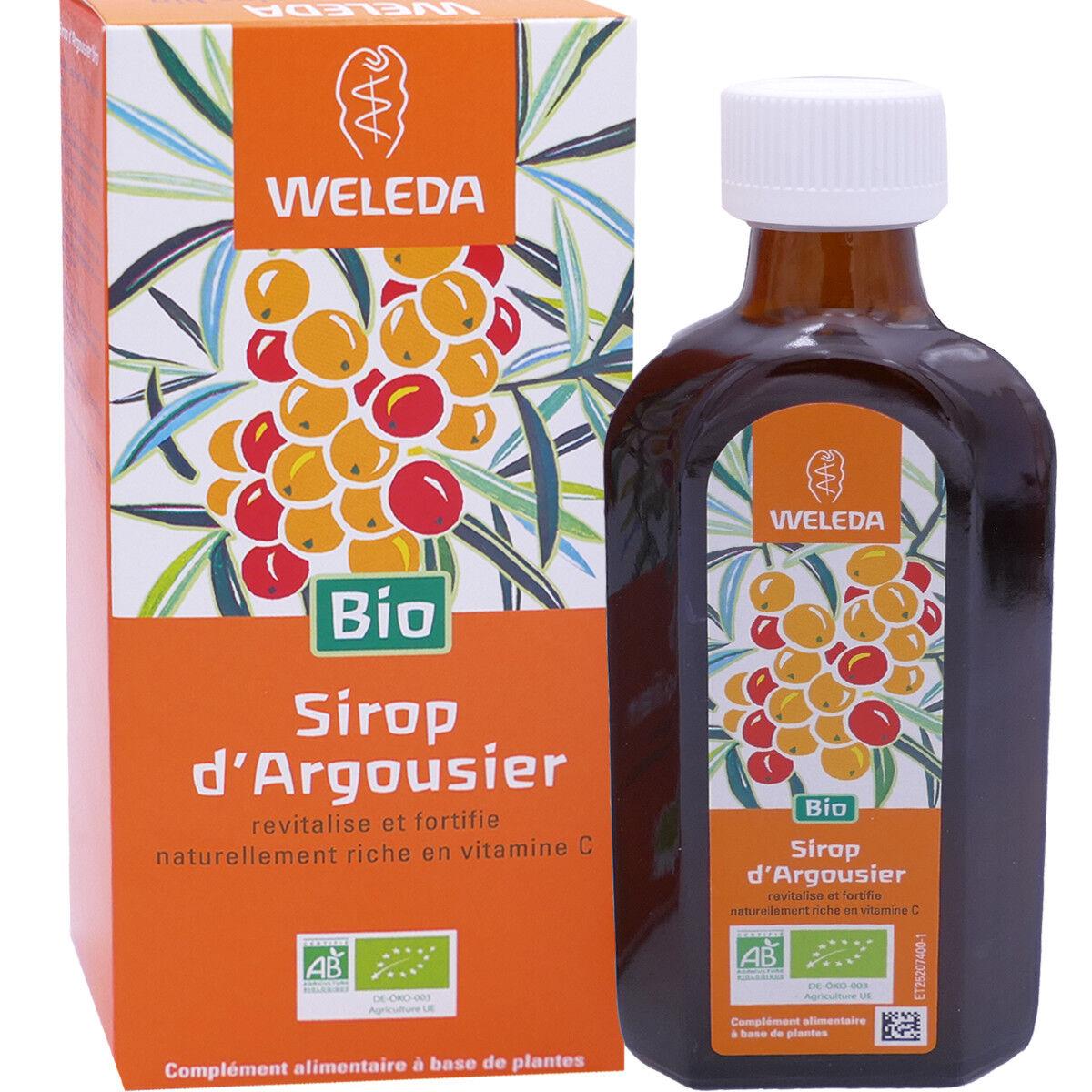Weleda sirop d'argousier 250 ml vitamine c